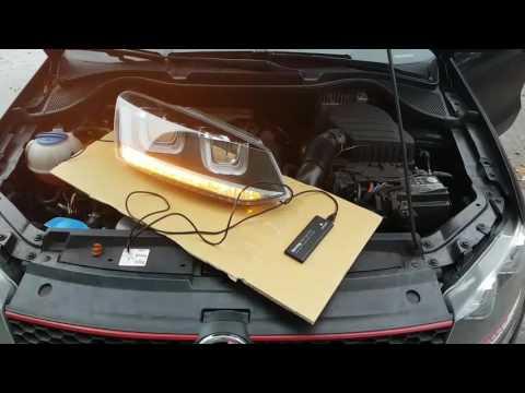 Volkswagen Polo 6R / Golf 7 dynamischer LED Blinker / dynamic Indicator