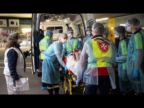 Γαλλία – Covid-19: 471 νέοι θάνατοι σε νοσοκομεία μέσα σε μία μέρα – 884 πέθαναν σε γηροκομεία…