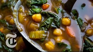 Chickpea Stew With Moroccan Spices.