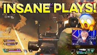 WHY DIZZY IS THE BEST APEX PLAYER IN THE WORLD! 😱 MOST INSANE PLAYS MONTAGE!
