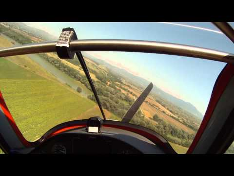 Preview video Basso passaggio ed atterraggio con il Sinus