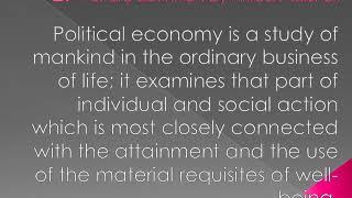 Economics Class 11 L 1 Definition of Economics