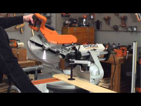 RIDGID How-To Video: For Miter Saws