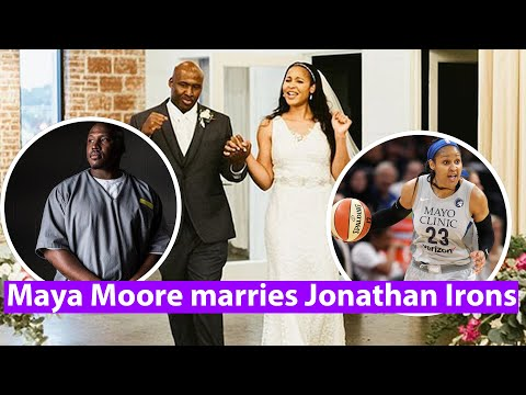 Maya Moore marries Jonathan Irons, man she helped free from prison this year
