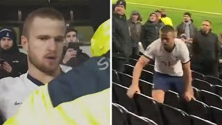video: Eric Dier confronts fan in stand following Tottenham's FA Cup defeat by Norwich City