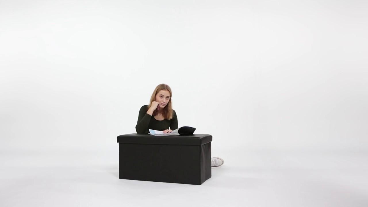 Video von: Sitzbank mit Stauraum Kunstleder