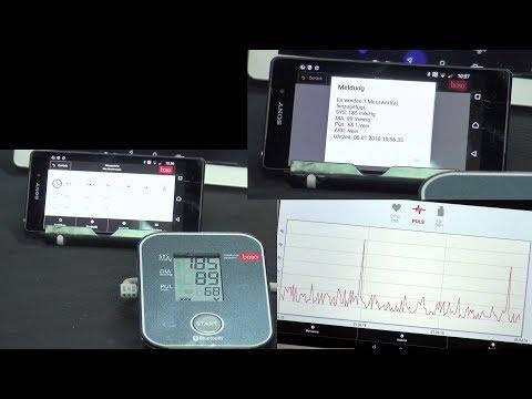 Blutdruckmessgerät von BOSO mit Bluetooth und App – ohne Cloudzwang
