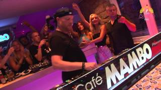 Eric Prydz at Cafe Mambo Ibiza  August 2013