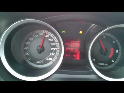 Der mittlere Aufwand des Benzins beim Motorroller