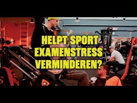 KU LIFE HACK 5: Helpt sport examenstress verminderen?
