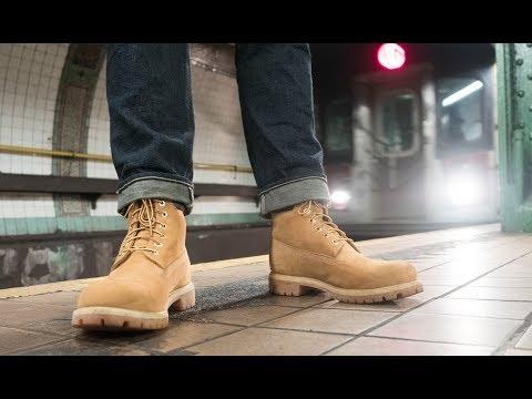 TIMBERLAND 6 inch Premium Stiefel für Herren Schwarz