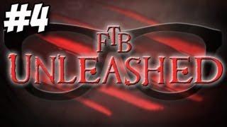 FTB Unleashed - Part 4 - Power Fist!