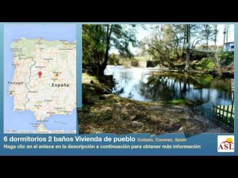 6 dormitorios 2 baños Vivienda de pueblo se Vende en Collado, Caceres, Spain