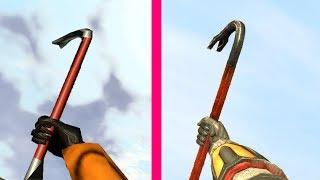 Half Life 2 Gun Sounds vs Half Life 1
