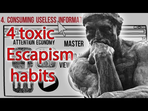 How to not waste your life(4 toxic escapism habits)