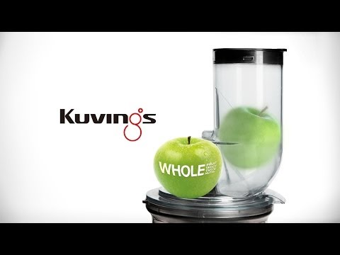 Kuvings WHOLE Slow Juicer (Big Mouth Innovation) - Official Video : Best Juicer  B6000