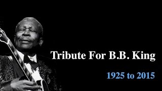 Tribute for BB King: