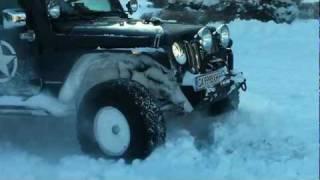 Тест GoodYear Wrangler DuraTrac в глубоком снегу