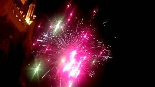 preview picture of video 'Miechowice festyn 2014 pokaz fajerwerek'
