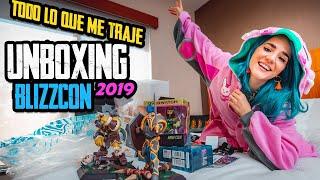 Todo lo que CONSEGUIMOS en la Blizzcon 2019 - UNBOXING