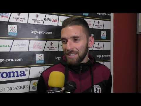 Arezzo-Virtus Entella 2-2, intervista a Fabio Foglia