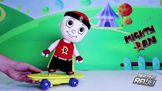 Toy Demo - Mighty Raju on Musical Skates