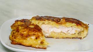 Картофельный кляр для отбивных из грудки куриной или из филе индейки