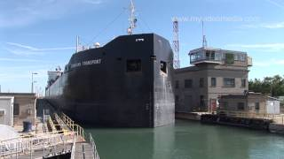 preview picture of video 'Welland Canal, Lock 7 - Canada HD Travel Channel'