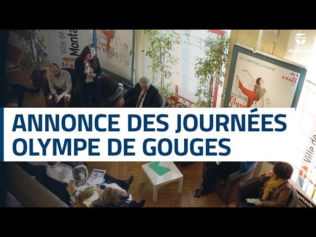 Conférence de presse des Journées Olympe de Gouges
