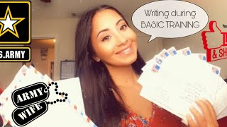 Army Wife| Writing Letters During Basic Training