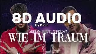 [8D Audio]ARDIAN BUJUPI X FERO47   WIE IM TRAUM I Deutschrap 8D