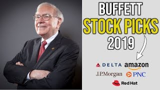 Warren Buffett Has Only Bought 5 Stocks In 2019. Here They Are.