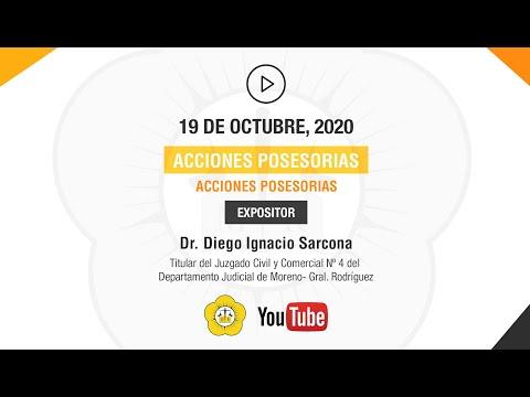 ACCIONES POSESORIAS CUESTIONES PROCESALES - 19 de Octubre 2020