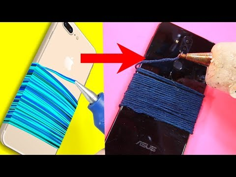 Trying 23 BRILLIANT PHONE HACKS By 5 Minute Crafts Mp3