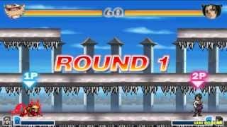 Game Bleach vs Naruto 2.0 - Naruto đánh nhau với Sasuke