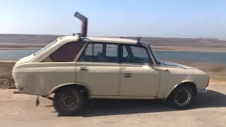 Дровяная печь в салон автомобиля. Это Украина!