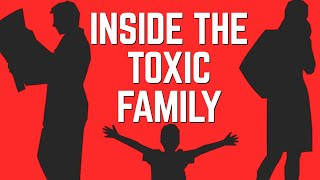 Toxic Family Structure: Narcissist, Enabler, Scapegoat Child, Lost Child and Golden Child