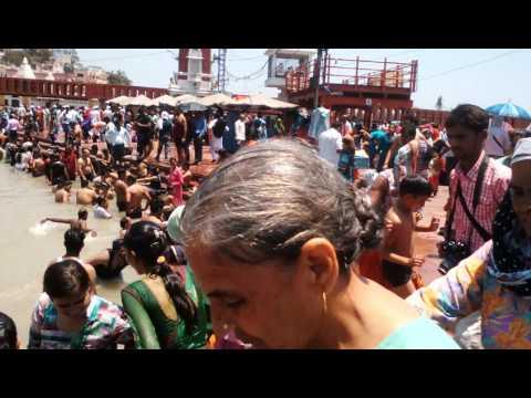 . Open bath in haridwar