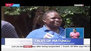 The state of security in Matungu Kakamega after police operations