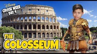 I CONQUERED ROME!!! COLOSSEUM & VATICAN! Disney Magic Mediterranean CRUISE WEEK - Day 4