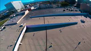 "5"" FPV Drone Flight In Abandoned Mall Parking Structure - Old Gopro Session 4"