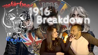 MOTORHEAD 1916 Reaction!!!