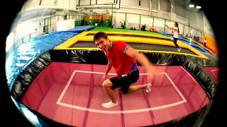 Прыжки на батуте - Александр Firsov - (Трейлер)