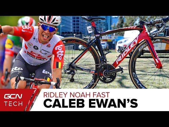 Caleb Ewan s Ridley Noah Fast Aero Race Bike  b11fd6d80