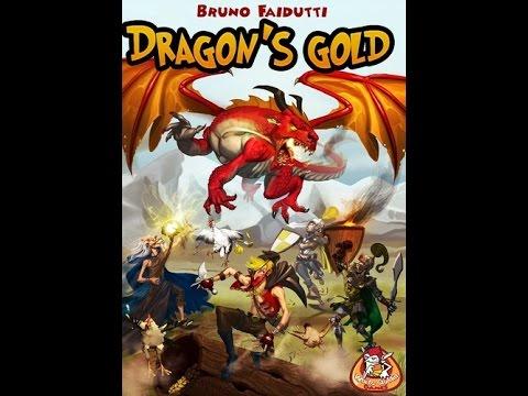 Board Game Brawl Reviews - Dragon's Gold