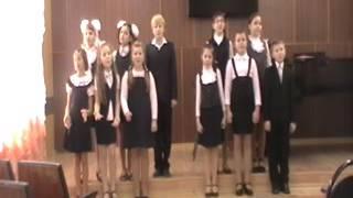 """Вокальный ансамбль """"Капельки"""" младшая группа (9-10 лет)"""