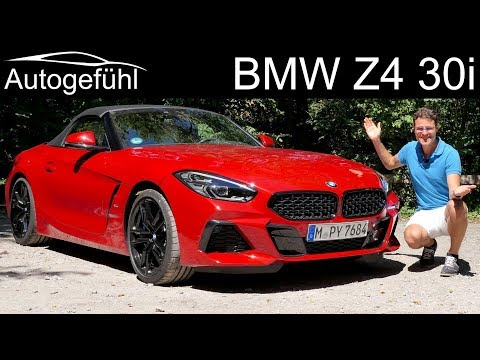 New BMW Z4 Roadster FULL REVIEW - the s30i 4-cylinder conquers the M40i 6-cylinder!