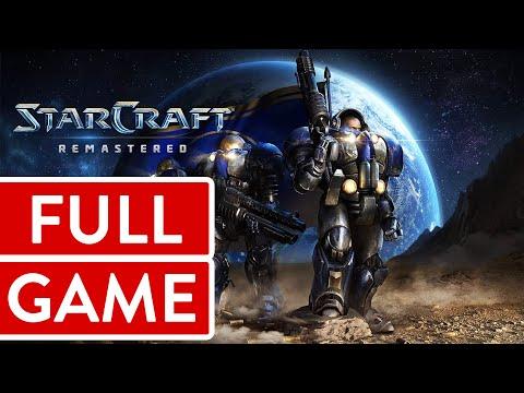 Starcraft Remastered - Episode 1: Terran [065] PC Longplay/Walkthrough/Playthrough (FULL GAME)