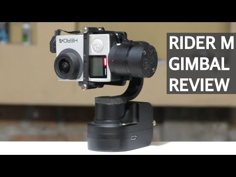 Review #6 - Estabilizador de cámara Zhiyun Tech Rider M !