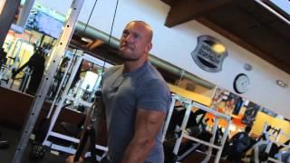 The Rock. Тренировка Дуэйна Джонсона - РУКИ